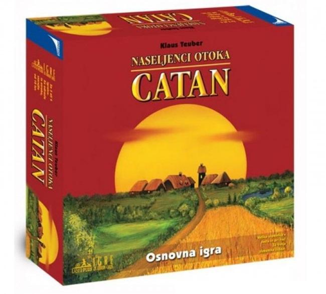 Naseljenci otoka Catan - osnovna igra